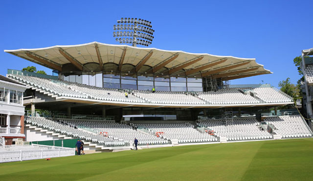 The new Warner Stand at Lord's
