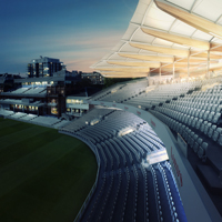 the new lord's warner stand