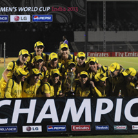 Women's World Cup Champions Australia